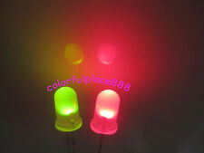 1000pcs 5mm Dual Bi Color Red/Green Diffused Led Polar Changing Leds 2-Pin Light