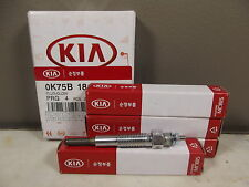 GENUINE KIA K2700 TRUCK 4CYL 2.7L DIESEL ALL MODEL GLOW PLUG  1SET (4EA)