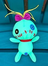 "NEW EURO DISNEY LILO AND STITCH 7"" SCRUMP PLUSH STUFFED ANIMAL DOLL FIGURE"
