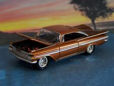 59 1959 CHEVY IMPALA COUPE 1/64 SCALE DIECAST MODEL COLLECTIBLE - DIORAMA
