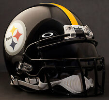 PITTSBURGH STEELERS NFL Gameday REPLICA Football Helmet w/ OAKLEY Eye Shield