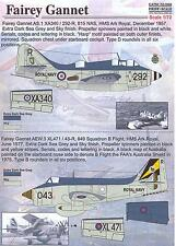 Print Scale Decals 1/72 FAIREY GANNET British Anti-Submarine Aircraft