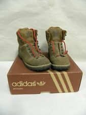 Vtg Adidas Eiger Leather Hiking Climbing Mountaineering Boots Mens Size 8 (A15)