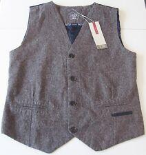 Weste Gr.158 /164 name it NEU m.E gilet festlich braun blau