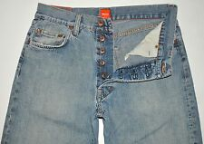 "Hugo Boss Straight Jeans Size Tag 32X32 Actual Measurements: W 30.5"" L 29 3/4"""