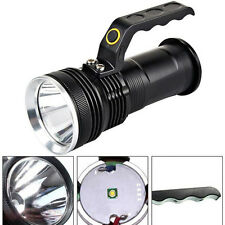 3000LM Tactical LED Flashlight CREE XM-L Rechargeable 18650 Torch Lamp 3 Modes