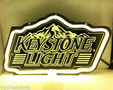 "SB179 Keystone Light Beer Bar Pub Display Neon Light 3D Acrylic Sign 11.5""X7"""