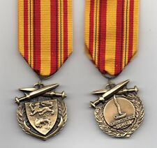 DUNKIRK MEDAL 1940 - A SUPERB QUALITY FULL-SIZE REPLICA WITH RIBBON