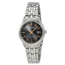 Citizen Sapphire Black Dial Ladies Watch EW2400-58H