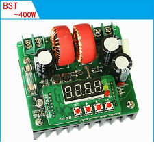 Digital-controlled 400W 10A constant voltage constant current DC boost Converter