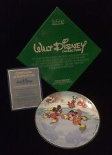 Schmid Walt Disney Characters 1984 Command Performance Collector Plate Mickey
