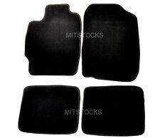 FIT FOR 04-10 SCION TC BLACK NYLON CARPET FLOOR MATS 4 PIECES