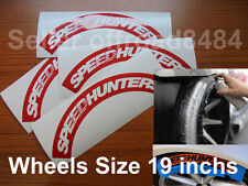 Speedhunters TireBomb Custom  tire stencil Decals Wheels 19'' Drift illest