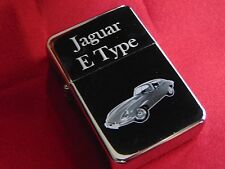 Jaguar E Type Engraved / Impact Printed Fuel STAR Lighter With Gift Box