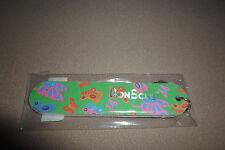 """3 1/2"""" BonBons Green """"Butterflies"""" Mini Emory Board Key Chain, NEW IN PACKAGE!!"""