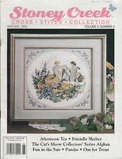 Stoney Creek Cross Stitch Collection May June 1993 magazine