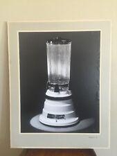 Mid Century Kodak Waring Blender Black White Medalist G Paper Paper Photo Rick