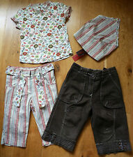 Mint Condition Catimini 4 Part Outfit (Trousers, Top, Headscarf) Size 4 years!