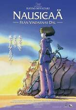 NAUSICAA OF THE VALLEY OF THE WIND Movie POSTER 11x17 Swedish