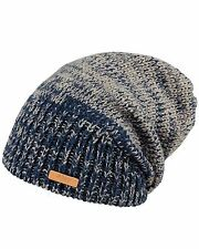 Barts Brighton  Mens Beanie in Blue - On Sale Now