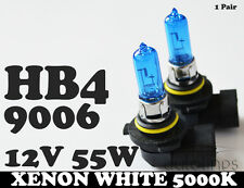 HB4 9006 55W 12V Xenon White 5000k Halogen Car Headlight Lamp Globes Bulbs HID