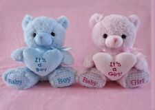 "8"" Baby Shower Pink It's a Girl! Teddy Bear Plush"