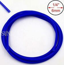Blue 10m x 6mm Vacuum Hose Silicon Rubber Pipe Vac Air Water Coolant Oil Turbo