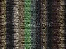 Noro ::Takeuma #02:: wool silk viscose yarn Spring 2013! Black-Brown-Grey-Mint
