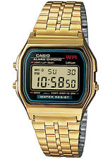 CASIO Alarm-Chrono Digitaluhr A159WGEA-1EF