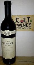 RP 93 pts! 2009 Beringer Private Reserve Cabernet Sauvignon wine, Napa Valley