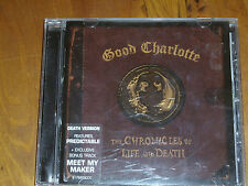 GOOD CHARLOTTE * CD  ' THE CHRONICLES OF LIFE AND DEATH ' 2004 EXC