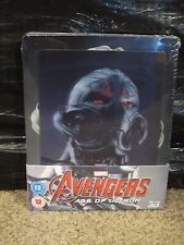 Avengers Age of Ultron Blu-Ray Lenticular Magnet Steelbook New Marvel Superhero