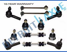Brand New 12pc Front AND Rear Suspension Kit for 2000 - 2004 Nissan Xterra