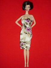 Barbie Size Fashion~1960's Fab Lu Babs Lili Clone Doll Strapless Dress~TLC Req