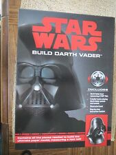 Star Wars Build Darth Vader Bust with Sounds Quotes Illustrated Book