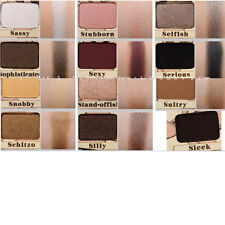 Pro 12 Colors Eyeshadow Matte Shimmer Palette With Brush Makeup Kit Beauty
