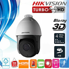 Hikvision 2MP 20x Zoom Outdoor Network IR PTZ Dome Camera with Night Vision