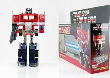 Top TRANSFORMERS AUTOBOT Optimus Prime tractor to Robot G1 Reissue Spielzeug