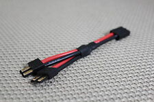 TRAXXAS HIGH CURRENT 12AWG PARALLEL BATTERY CONNECTOR ADAPTER PLUG US SELLER
