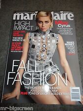 MILEY CYRUS - MARIE CLAIRE MAGAZINE - SEPTEMBER 2015 - NO LABEL