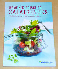 Weight Watchers Salat Kochbuch Knackig-Frischer Salatgenuss ProPoints Plan *2014
