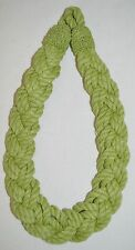 "Curtain Tie-Back-Outdoor Braided-22""Lx1 3/8""W -  4 Bright Colors 2Choose From!!!"