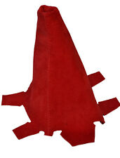 RED PU SUEDE FITS HONDA INTEGRA DC5 2001-2005 COUPE GEAR GAITER SHIFT BOOT