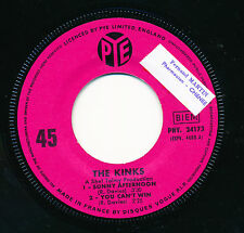 "THE KINKS 45 TOURS EP 7"" FRANCE SUNNY AFTERNOON"
