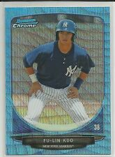 Fu-Lin Kuo New York Yankees 2013 Bowman Blue Wave Refractor