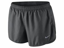 NEW-Nike Modern Tempo Embossed Women's Running Shorts - GREY MEDIUM
