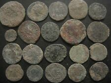 Beautiful lot  x 20 roman coins   UNCLEANED