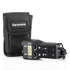 Saramonic SmartRig 2 Channel XLR Audio Adapter Mixer for DSLR Camera Smartphone
