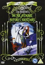 The NIGHTMARE BEFORE CHRISTMAS Special Edition 1994 DVD NEW Region 2