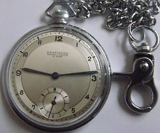 "RARE  ""ANCRE EXTRA""-MINT-SWISS POCKET WATCH"